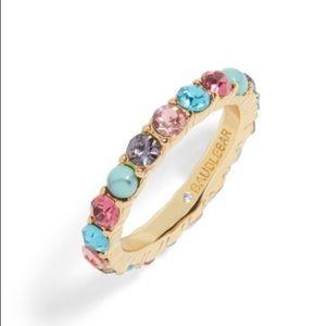 BaubleBar Rainbow Turquoise Eternity Ring